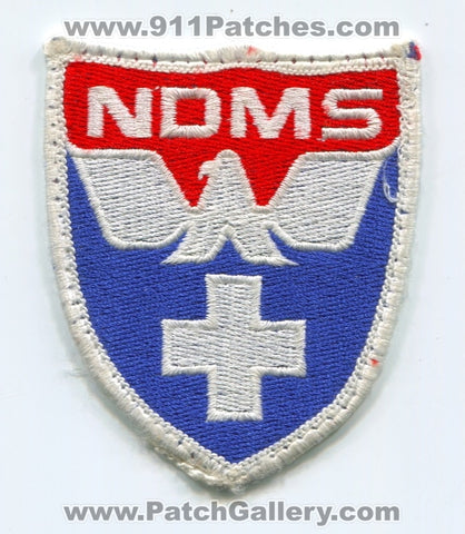 National Disaster Medical System NDMS EMS Patch Washington DC