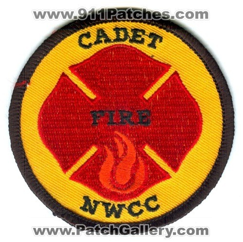 NWCC Fire Department Cadet Patch Unknown State - SKU279