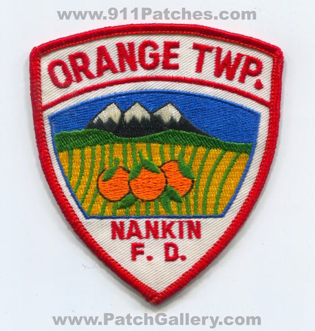 Nankin Fire Department Orange Township Patch Ohio OH