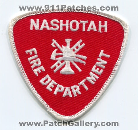 Nashotah Fire Department Patch Wisconsin WI