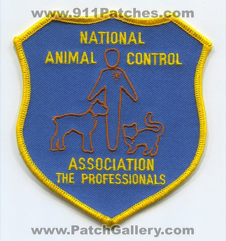 National Animal Control Association NACA Police Sheriff Patch California CA