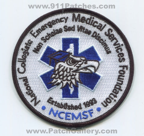 National Collegiate Emergency Medical Services Foundation EMS Patch New York NY