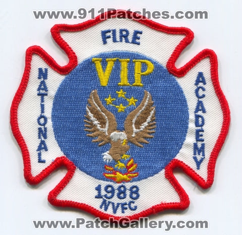 National Fire Academy 1988 VIP Patch Maryland MD