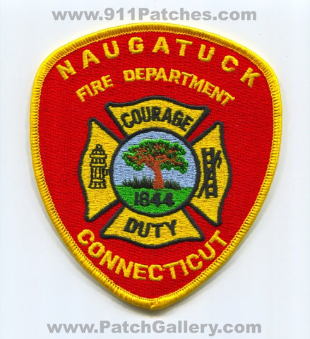 Naugatuck Fire Department Patch Connecticut CT