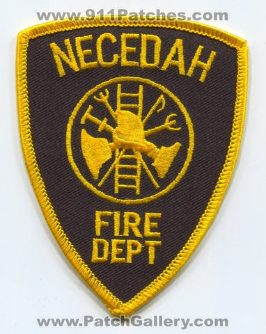 Necedah Fire Department Patch Wisconsin WI