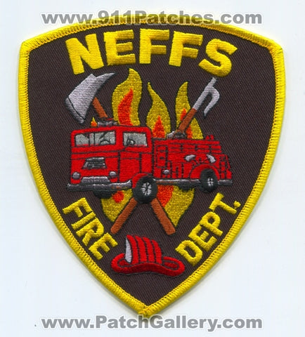 Neffs Fire Department Patch Ohio OH