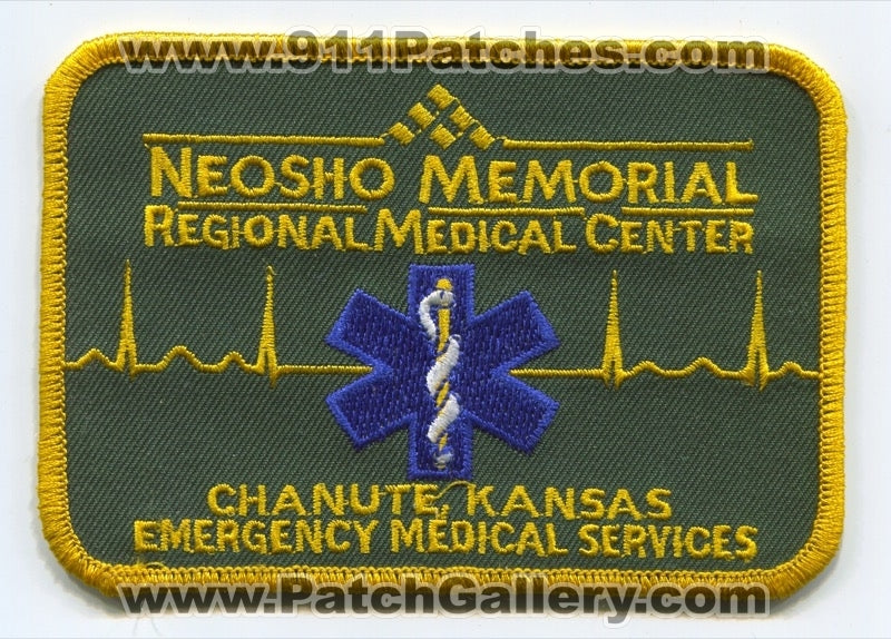 Neosho Memorial Regional Medical Center Emergency Medical Services EMS Patch Kansas KS