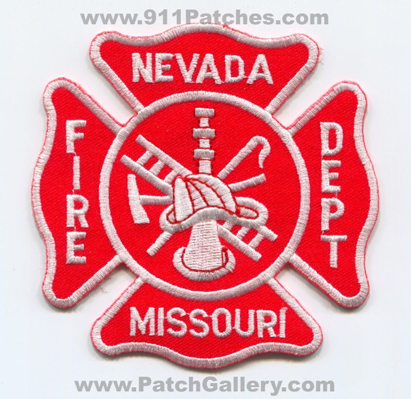 Nevada Fire Department Patch Missouri MO