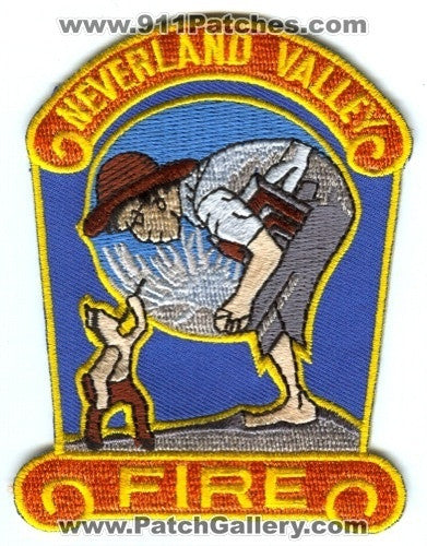 Neverland Valley Fire Department Michael Jacksons Ranch Patch California CA