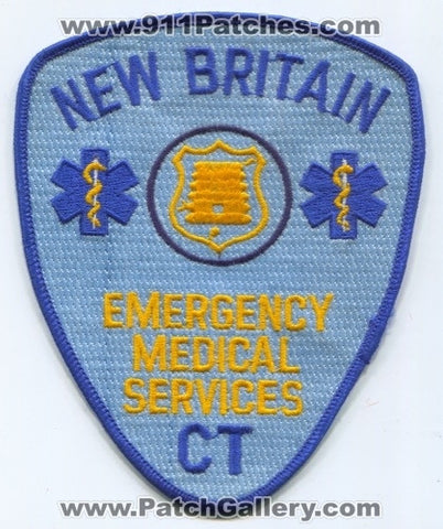 New Britain Emergency Medical Services EMS Patch Connecticut CT