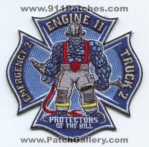 New Haven Fire Department Engine 11 Truck 2 Emergency 2 Patch Connecticut CT