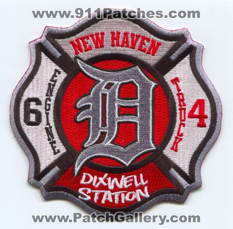 New Haven Fire Department Engine 6 Truck 4 Patch Connecticut CT