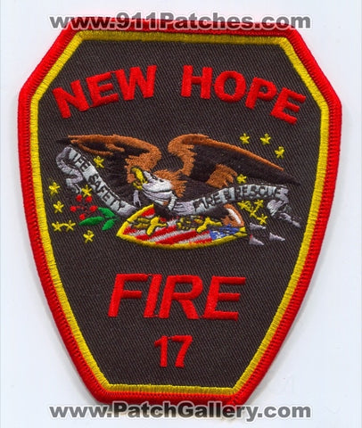 New Hope Fire Department Patch North Carolina NC
