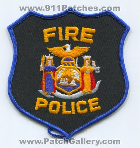 New York State Fire Police Department Patch New York NY