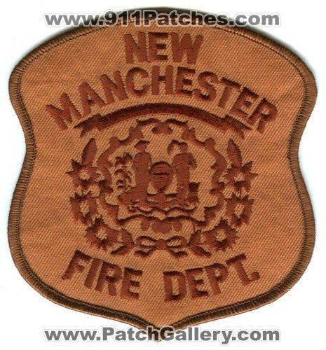 New Manchester Fire Department Patch West Virginia WV