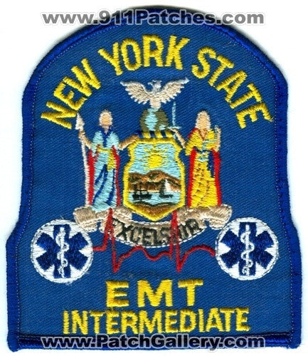 New York State EMT Intermediate EMS Patch New York NY