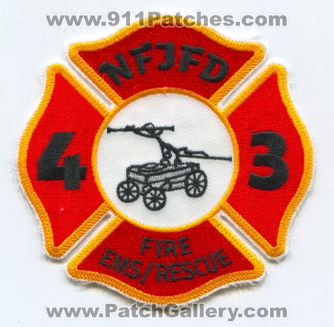 Newton Falls Joint Fire District NFJFD Station 43 Patch Ohio OH