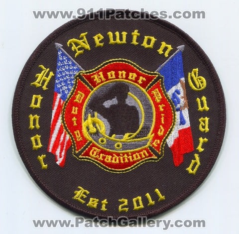 Newton Fire Department Honor Guard Patch Iowa IA