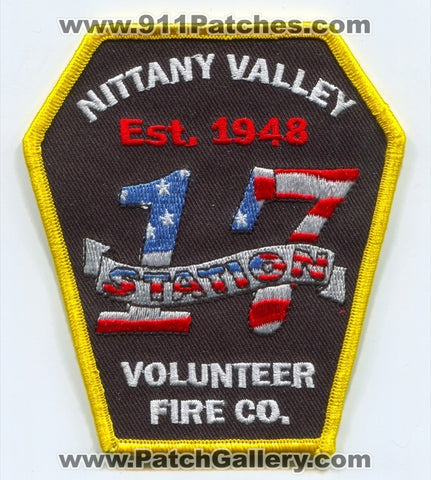 Nittany Valley Volunteer Fire Company Station 17 Patch Pennsylvania PA
