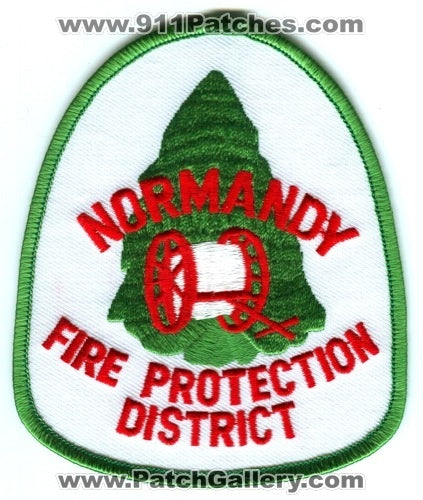 Normandy Fire Protection District Patch Missouri MO