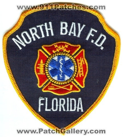 North Bay Fire Department Patch Florida FL