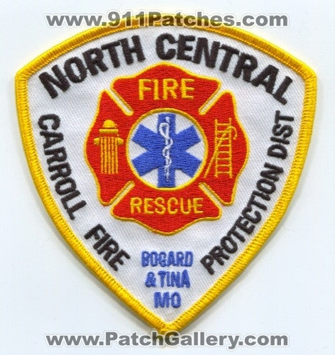 North Central Carroll Fire Protection District Patch Missouri MO