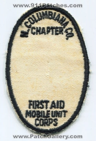 North Columbiana County Chapter First Aid Mobile Unit Corps EMS Patch Ohio OH