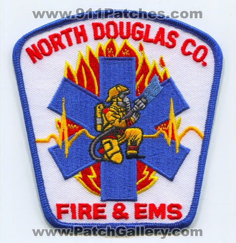 North Douglas County Fire and EMS Department Patch Oregon OR