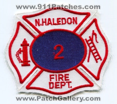North Haledon Fire Department 2 Patch New Jersey NJ