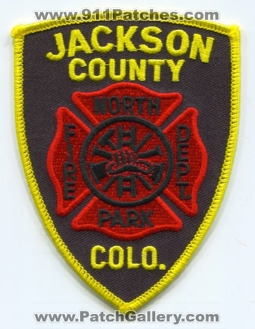 North Park Fire Department Jackson County Patch Colorado CO