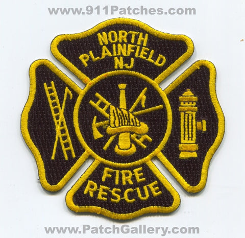 North Plainfield Fire Rescue Department Patch New Jersey NJ