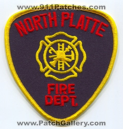North Platte Fire Department Patch Nebraska NE