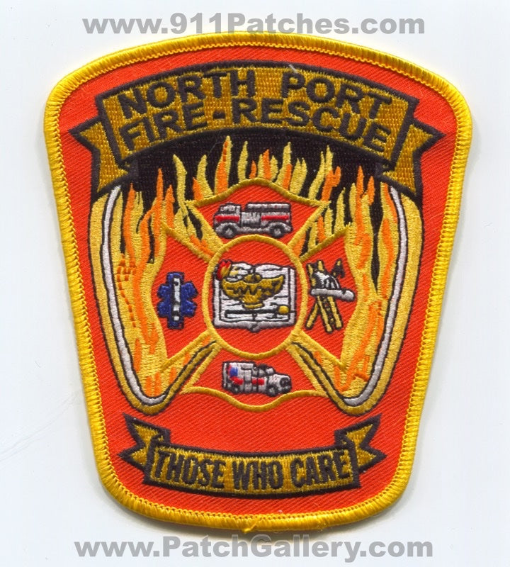 North Port Fire Rescue Department Patch Florida FL