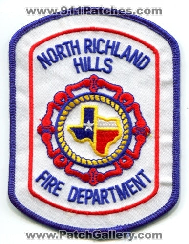 North Richland Hills Fire Department Patch Texas TX