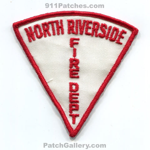 North Riverside Fire Department Patch Illinois IL