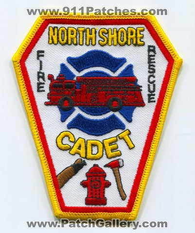 North Shore Fire Rescue Department Cadet Patch Wisconsin WI - SKU146
