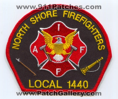 North Shore Firefighters IAFF Local 1440 Patch Wisconsin WI