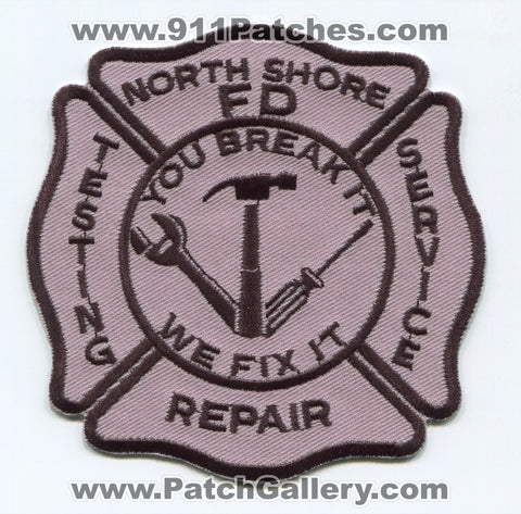 North Shore Fire Department Testing Service Repair Patch Wisconsin WI