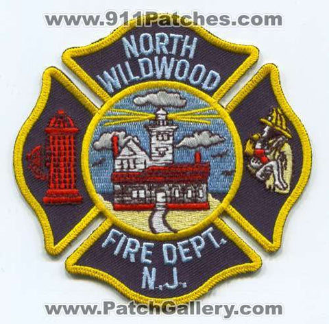 North Wildwood Fire Department Patch New Jersey NJ
