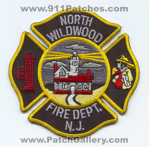 North Wildwood Fire Department Patch New Jersey NJ v2