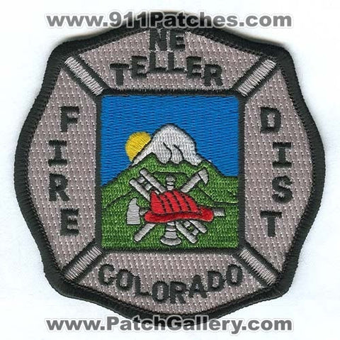 Northeast Teller Fire District Patch Colorado CO