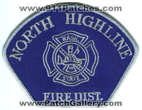 North Highline Fire District Patch Washington WA