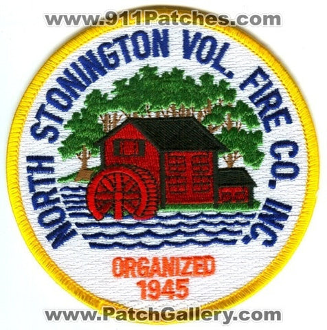 North Stonington Volunteer Fire Company Inc Patch Connecticut CT
