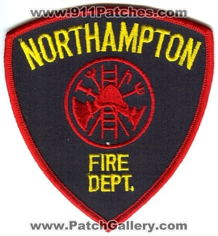 Northampton Fire Department Patch Massachusetts MA