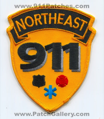 Northeast 911 Dispatcher Communications Fire EMS Police Sheriffs Patch Ohio OH