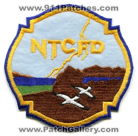 Northern Tooele County Fire District NTCFD Patch Utah UT
