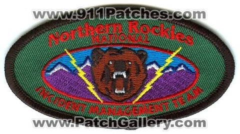 Northern Rockies National Incident Management Team NIMT Forest Fire Patch Oregon OR