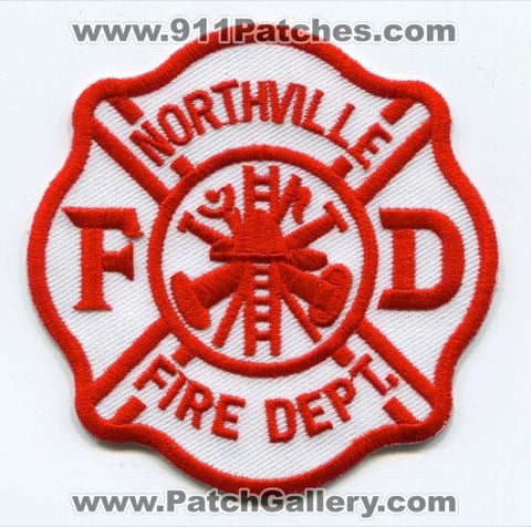 Northville Fire Department Patch Michigan MI SKU231