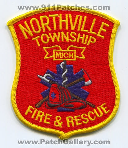 Northville Township Fire and Rescue Department Patch Michigan MI