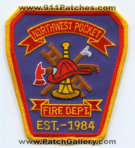 Northwest Pocket Fire Department Patch North Carolina NC